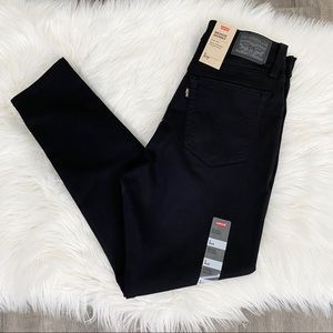 Levi's 6 Black High Rise Wedgie Skinny Jeans